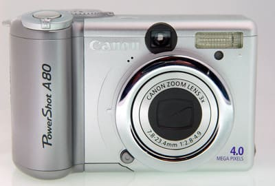 Product Image - Canon PowerShot A80