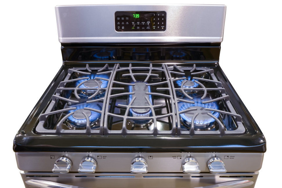 Frigidaire FGGF3054MF Burners On