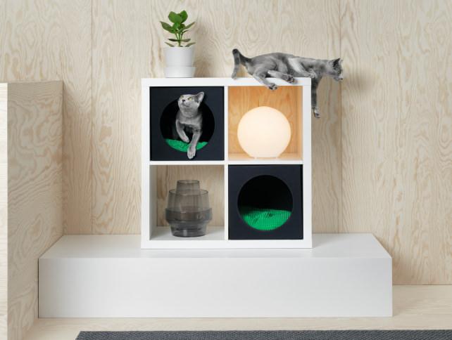 Ikea-Kallax-cat-cozy