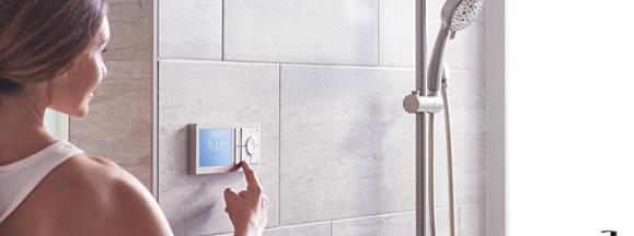 Moen smart shower lead