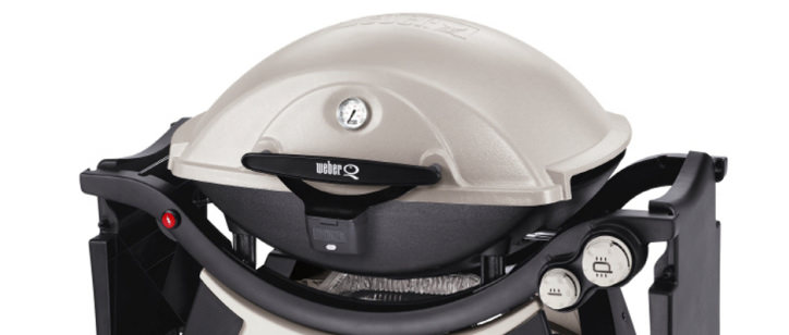 the weber q320 is a propane grill that offers consistent performance and an slightly