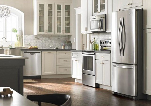 Whirlpool Stainless Kitchen