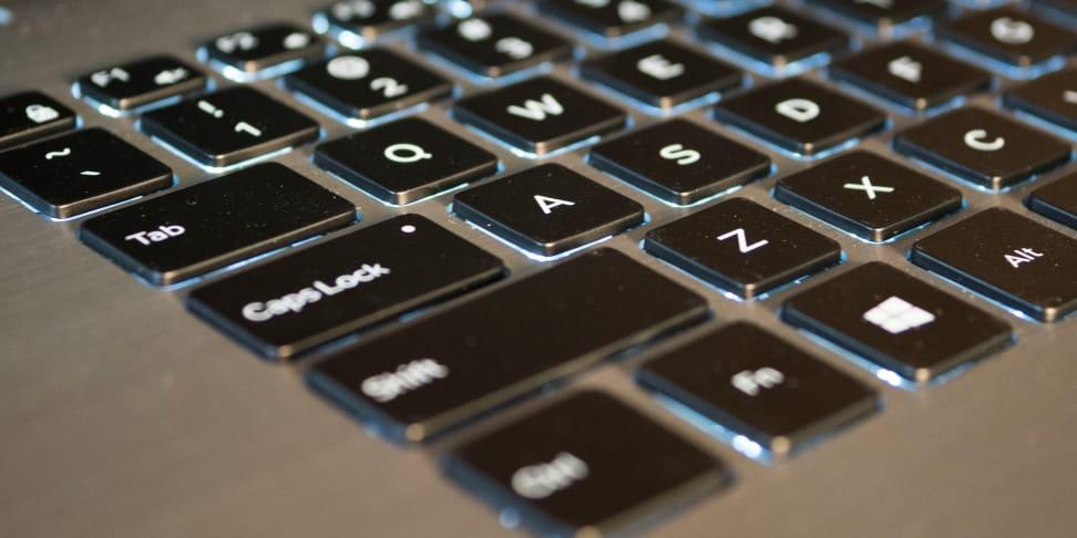 Dell Inspiron 15 7000 2-in-1 keyboard
