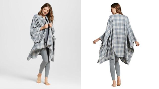 Gilligan and O'Malley Pajama Fleece Wrap