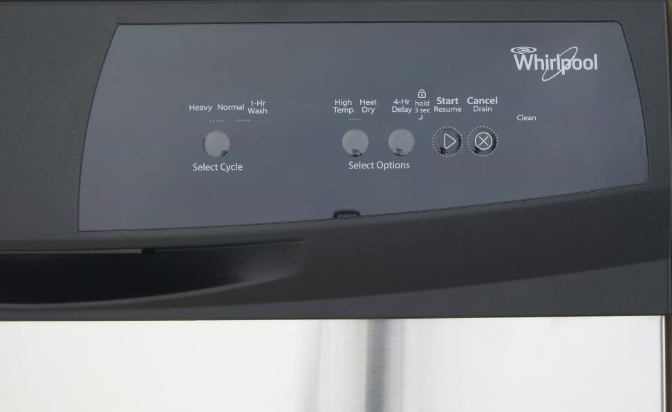Whirlpool WDF310PAAS—Controls