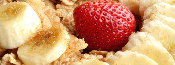 Fruit in cereal