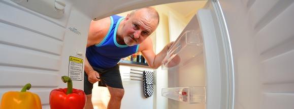 Food for empty fridge hero
