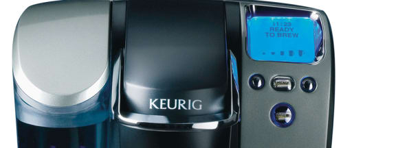 Keurig brewer hero