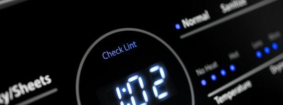 Dryer timer display