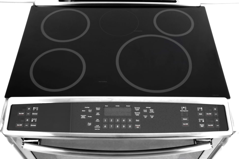 GE Profile PHS920SFSS Slide-In Induction Range Review - Reviewed ...