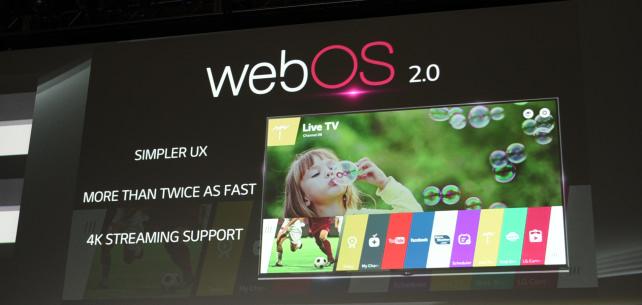 Web OS Display