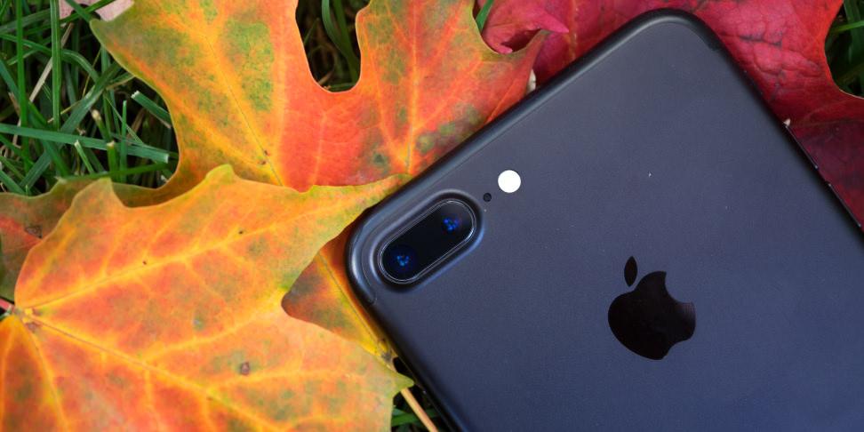 Apple iPhone 7 Plus Dual Cameras