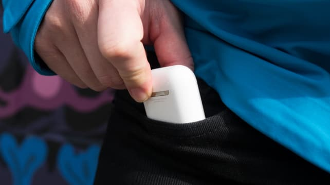 Apple AirPods Case In Pocket