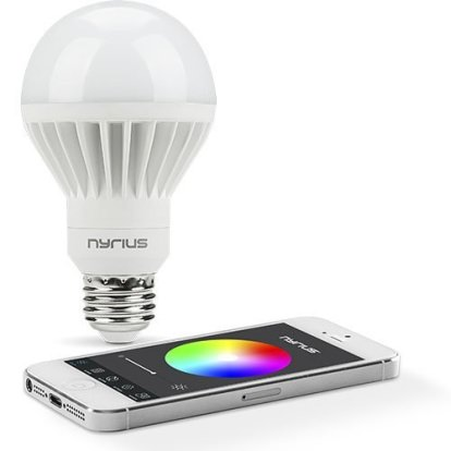 Product Image - Nyrius Wireless Smart LED Multicolor Light Bulb