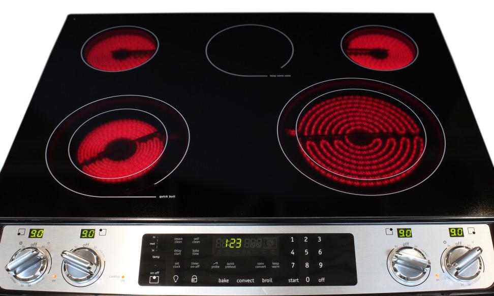 Frigidaire FGES3065PF burners