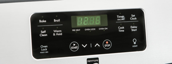 Kenmore 74033 controls