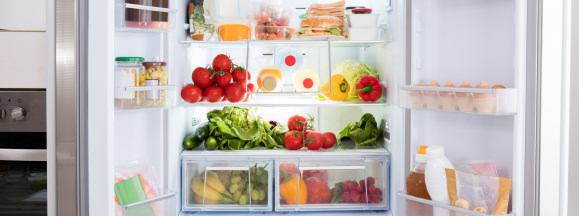 This is why your fridge smells hero