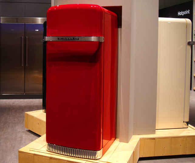 Kitchenaid Unveils Retro Quot Iconic Fridge Quot Refrigerators