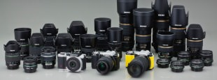 K mount lenses group