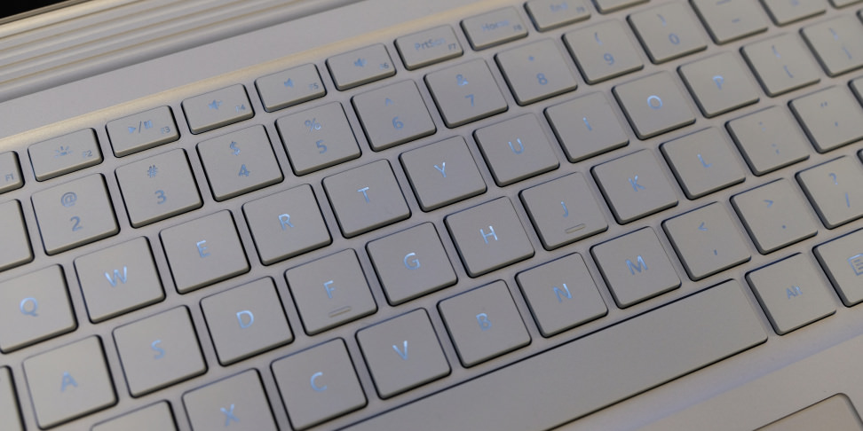 Microsoft Surface Book Performance Base Keyboard