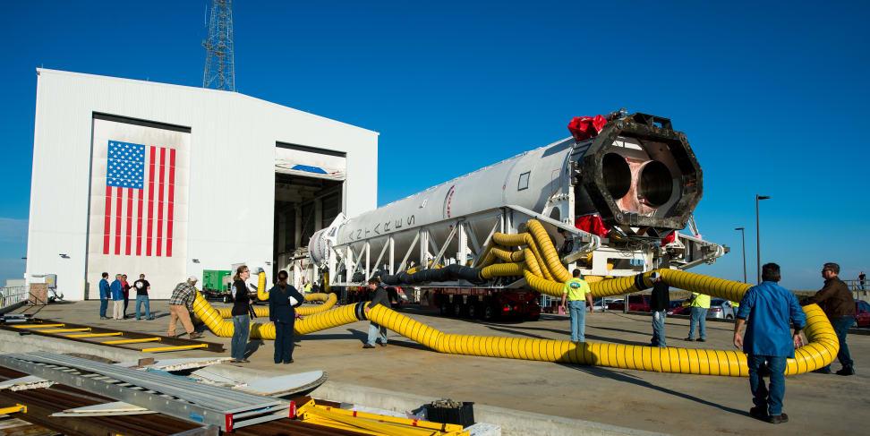 Orbital Sciences Antares Rollout.jpg