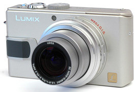 Product Image - Panasonic Lumix DMC-LX1 K and S