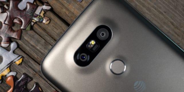 LG G5 Twin Cameras