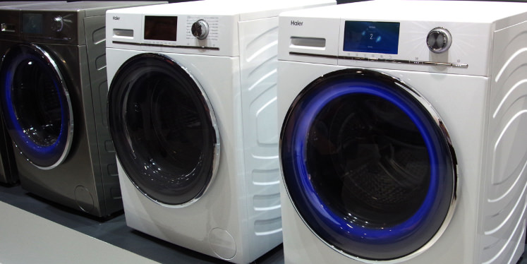 The Haier Intelius Washing Machine Changes Color ...