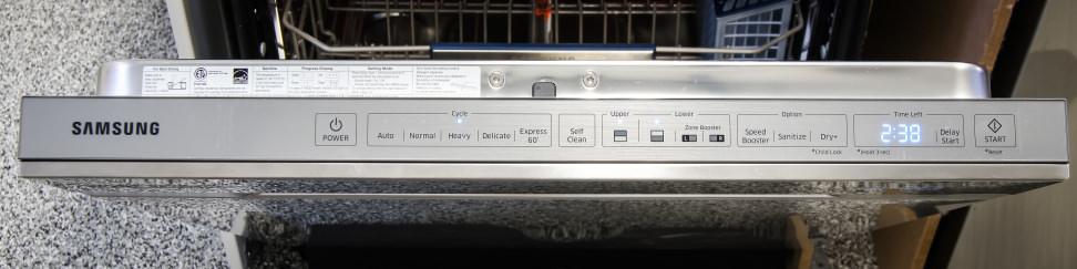 Samsung DW80H9970US—Controls
