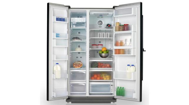 Mostly empty fridge
