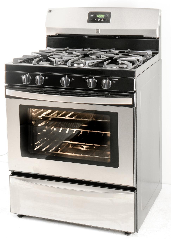 Gas Wall Ovens Reviews Kenmore 73433 Gas Range Review Reviewedcom Ovens
