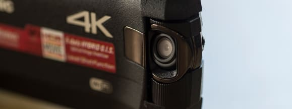 Panasonic camcorder front cam
