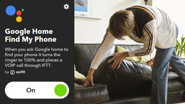 Google Find My Phone with IFTTT