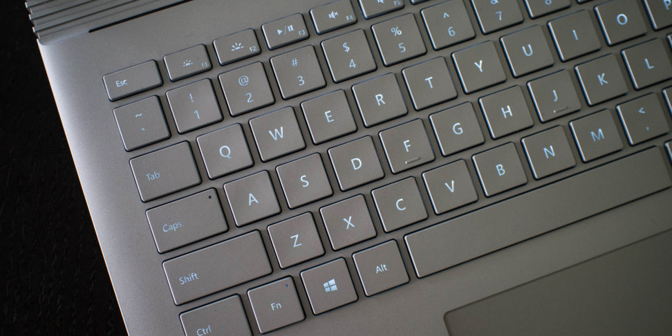 Microsoft Surface Book Keyboard