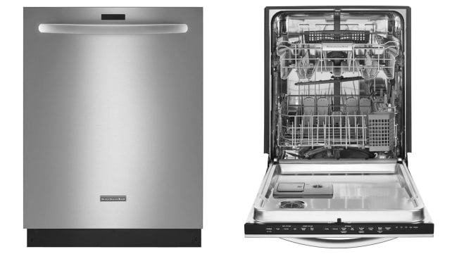 KitchenAid Top Control Dishwasher in Stainless Steel