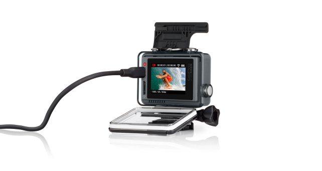 GoPro Hero+ LCD Rear