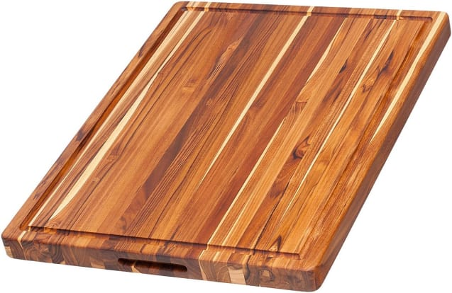Product Image - Teakhaus Rectangle Carving Board With Hand Grips