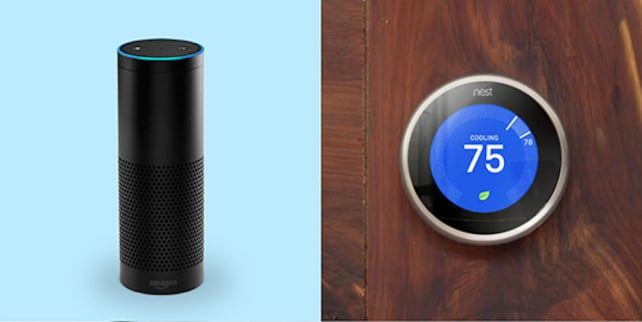 Nest Thermostat and Amazon Echo
