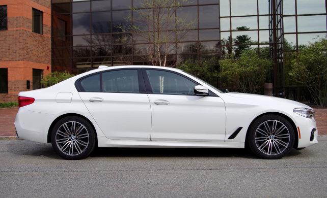 BMW 530i Side View