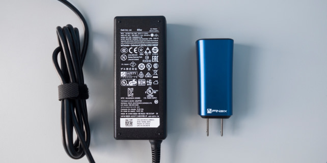 FINsix Dart vs Dell Charger 65W