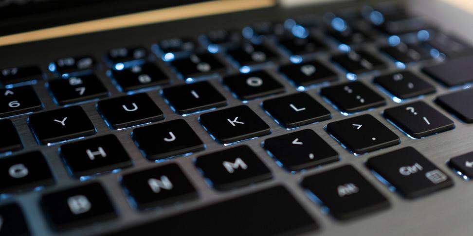 Dell Inspiron 13 7000 2-in-1 keyboard