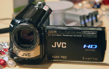 Product Image - JVC GZ-HD320
