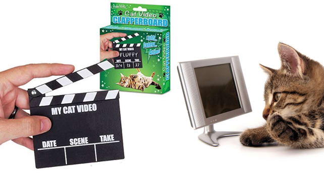 Accoutrements Cat Clapperboard