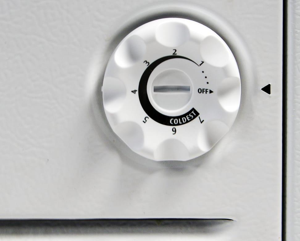 Frigidaire Gallery FGCH25M8LW Controls