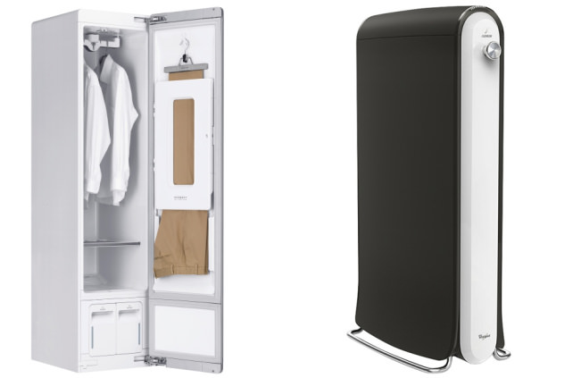 LG Styler and Whirlpool Swash