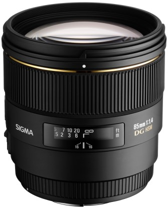 Product Image - Sigma 85mm f/1.4 EX DG HSM
