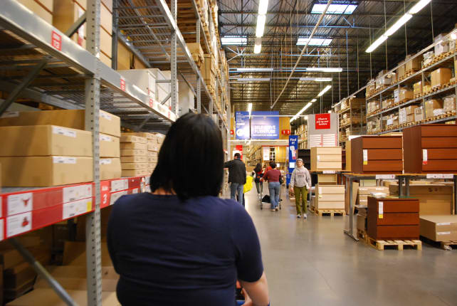 Ikea Self Serve Shelves