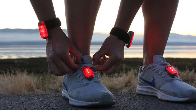 ReflecToes Clip-On Lights