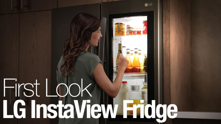 Lg Instaview Fridges Let You See Through Them With Just A