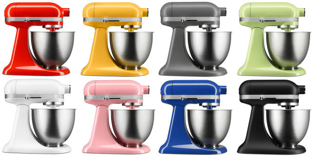 Kitchenaid Debuts Artisan Mini Stand Mixer Reviewed Com